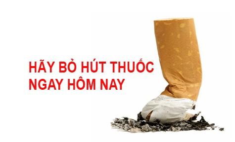 Bỏ hút thuốc lá ngay hôm nay