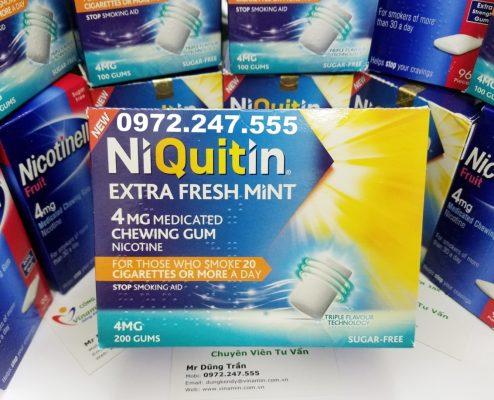 Kẹo Niquitin hộp 200 viên