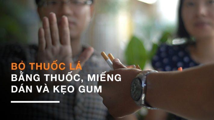 Bỏ thuốc lá bằng kẹo cai thuốc Nicorette