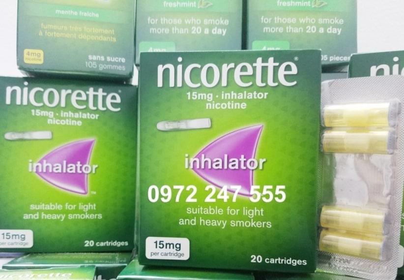 Ống hít nicotine